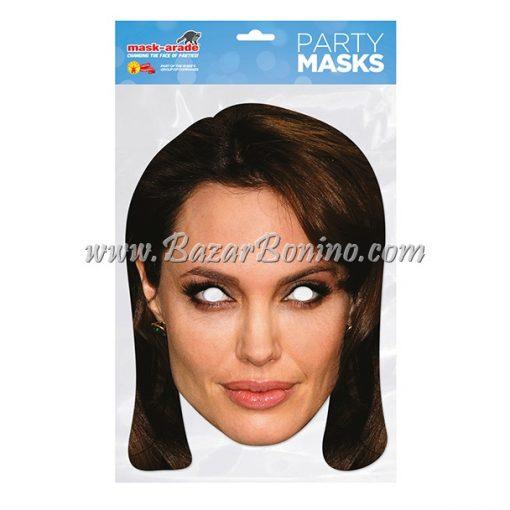 CAJOLI - Maschera Cartoncino Angelina Jolie