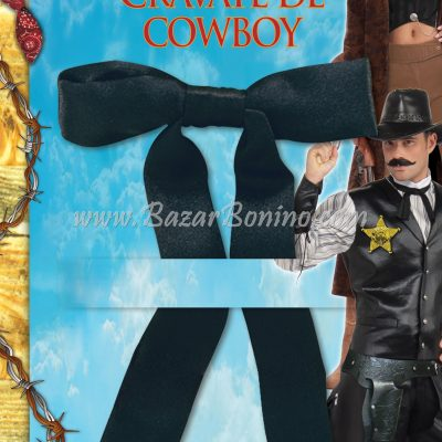 CBA507 - Cravatta-Farfallino Cow Boy