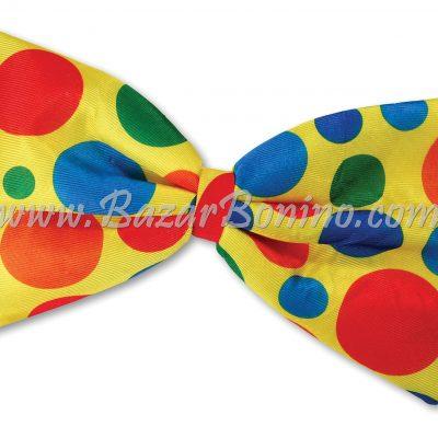 CBA826 - Papillon Jumbo Giallo Pois