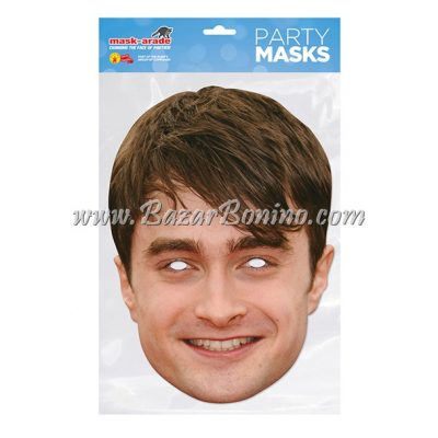 CDRADC - Maschera Cartoncino Daniel Radcliffe