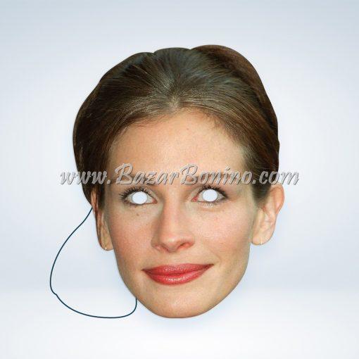 CJROBE - Maschera Cartoncino Julia Roberts