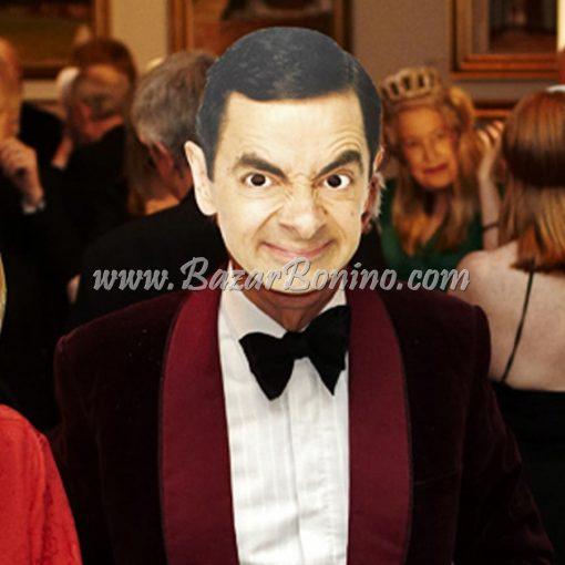 CMBEAN - Maschera Cartoncino Mr. Bean