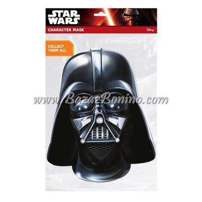 CSWDAR - Maschera Cartoncino Darth Vader