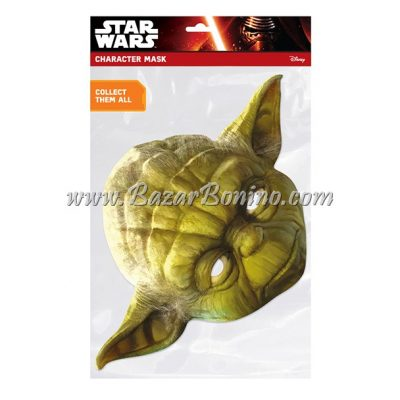 CSWYOD - Maschera Cartoncino Yoda
