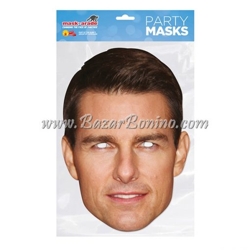 CTCRUI - Maschera Cartoncino Tom Cruise