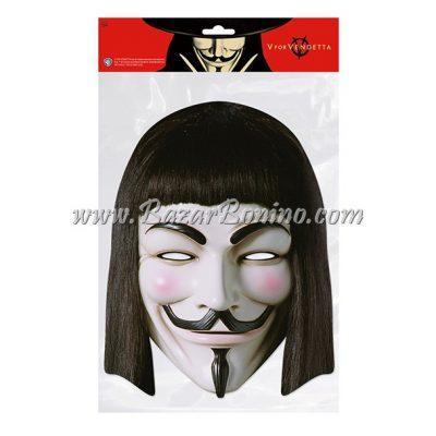 CVVEND - Maschera Cartoncino V x Vendetta