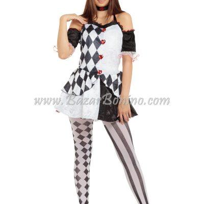 DAC955 - Costume Femminile Arlecchino
