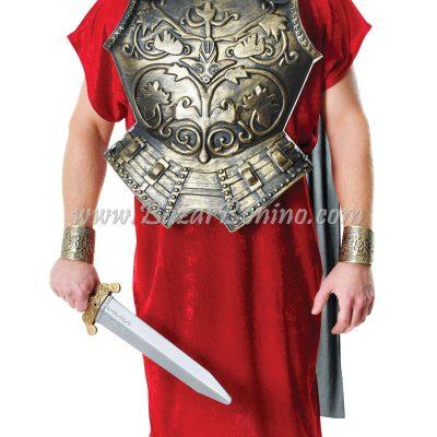 MAC909 - Armatura Romana con Mantello Nero