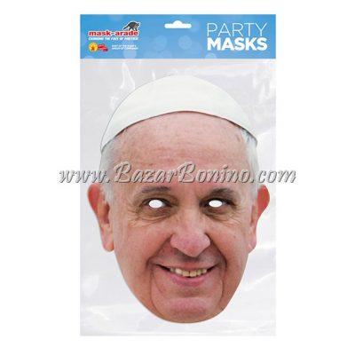 PPOPE - Maschera Cartoncino Papa Francesco