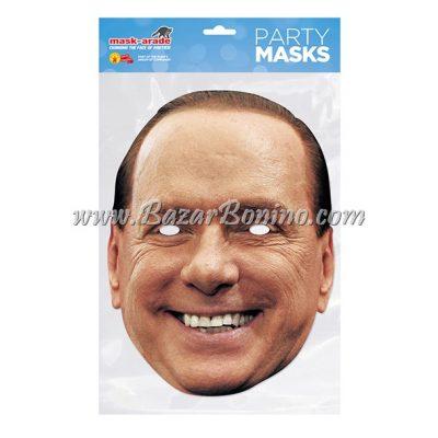 PSBERL - Maschera Cartoncino Silvio Berlusconi