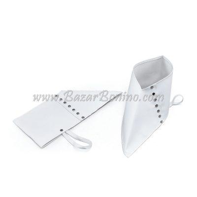 SBA181 - Ghette Copriscarpe Bianche