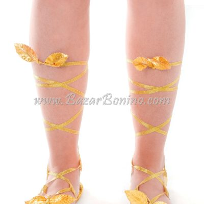 SBA803 - Sandalo Dorato Antica Roma