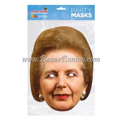 PMTHAT - Maschera Cartoncino Margaret Thatcher