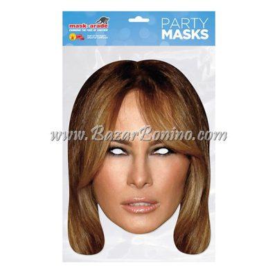 PMTRUM - Maschera Cartoncino Melania Trump
