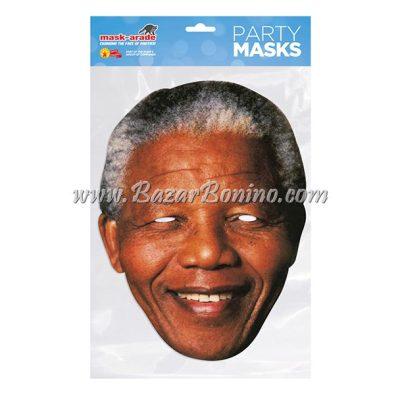 PNELSO - Maschera Cartoncino Nelson Mandela