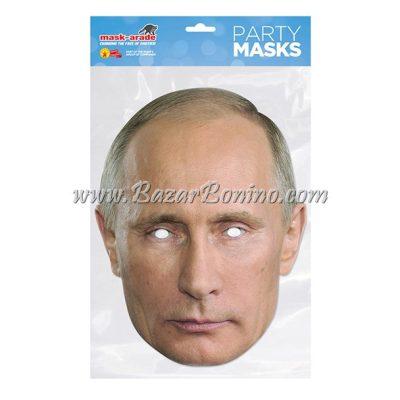PVPUTI - Maschera Cartoncino Vladmir Putin
