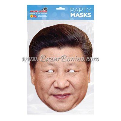 PXJINP - Maschera Cartoncino Xi Jinping