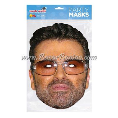 SGMICH - Maschera Cartoncino George Michael