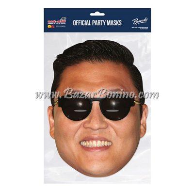 SPSYGS - Maschera Cartoncino Psy Gangnam Style