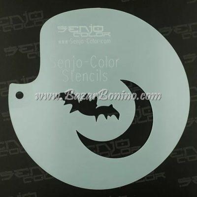Stencil Bat Moon Senjo-Color - TST2027