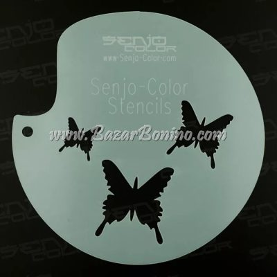 Stencil Butterflies Senjo-Color - TST2034