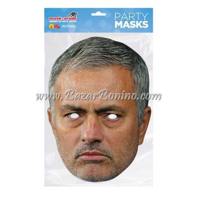 TJMOUR - Maschera Cartoncino Jose Mourinho