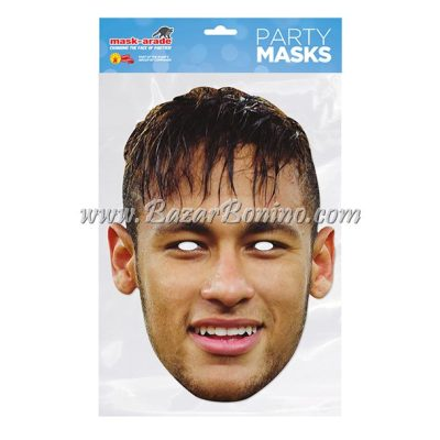 TNEYMA - Maschera Cartoncino Neymar