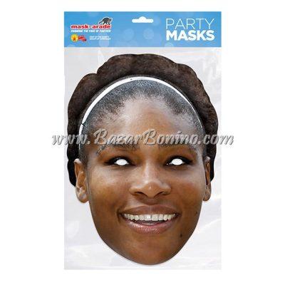 TSWILL - Maschera Cartoncino Serena Williams