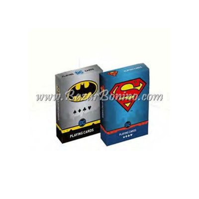 CM0030 - Mazzo carte Cartamundi Batman Superman Duopack