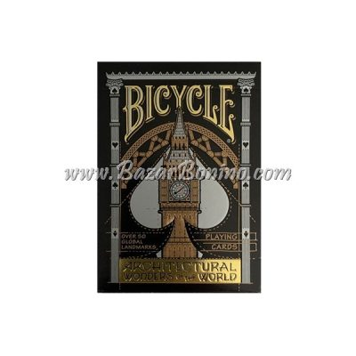 MB0037 - Mazzo Carte Bicycle Architectural Wonders