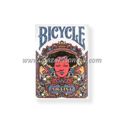 MB0038 - Mazzo Carte Bicycle Artist 2nd Edition