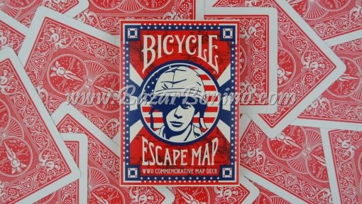MB0166 - Mazzo Carte Bicycle Escape Map