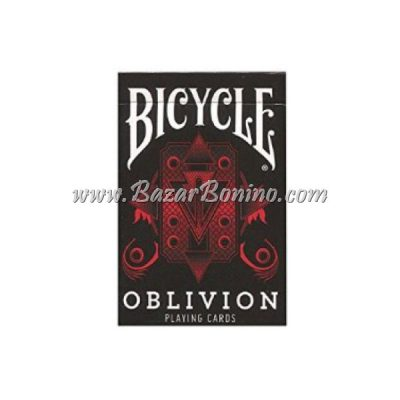MB0218 - Mazzo Carte Bicycle Oblivion Red