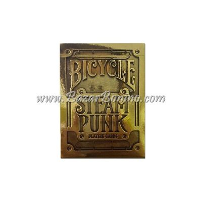 MB0312 - Mazzo Carte Bicycle Steampunk Gold