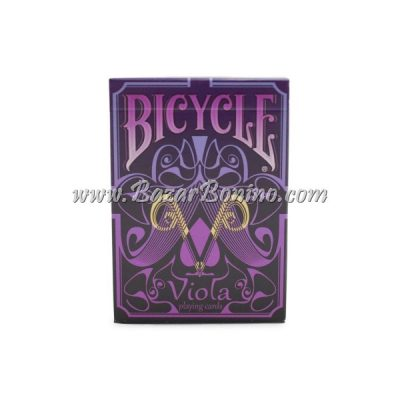 MB0337 - Mazzo Carte Bicycle Viola