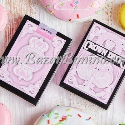 MBC020 - Mazzo Carte Pink Crown