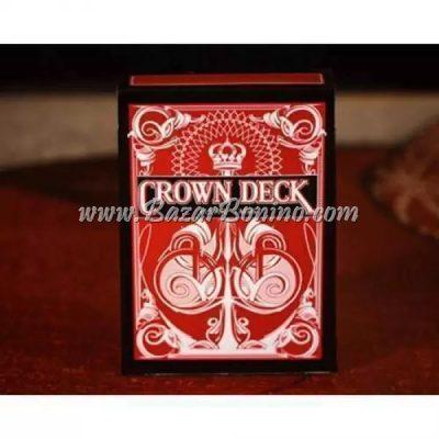 MBC040 - Mazzo Carte Crown Deck Rosso