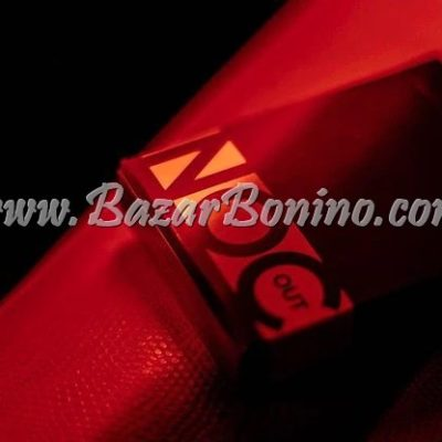MBC110 - Mazzo Carte Noc Out Red Gold
