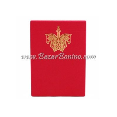 ME15 - Mazzo Carte Ellusionist Red Knights