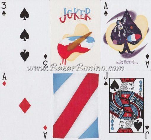 ME20 - Mazzo Carte Ellusionist Rockets