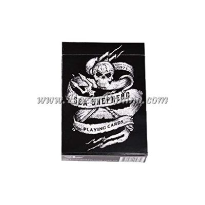 ME35 - Mazzo Carte Ellusionist Sea Shepherd