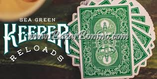 ME55 - Mazzo Carte Ellusionist Green Keeper Reloads