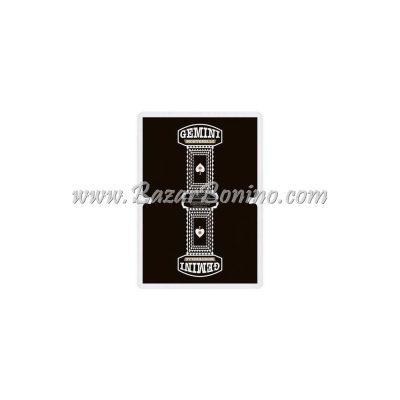 MG030 - Mazzo Carte Gemini Casino Black