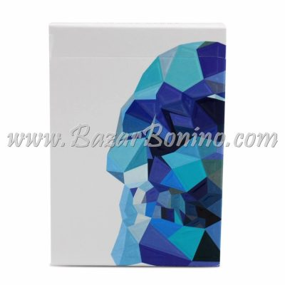 MMM030 - Mazzo Carte Memento Mori Blue Edition