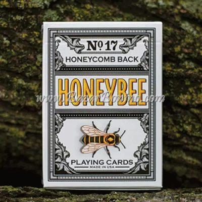 MP030 - Mazzo di Carte Honeybee V2 Nero