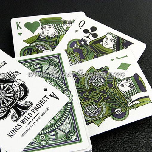 MV0226 - Mazzo Carte Tally Ho Emeralds White Edition