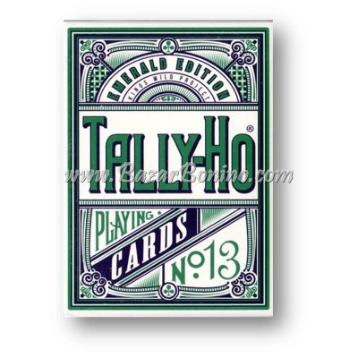 MV0226 - Mazzo Carte Tally Ho Emeralds White Edition