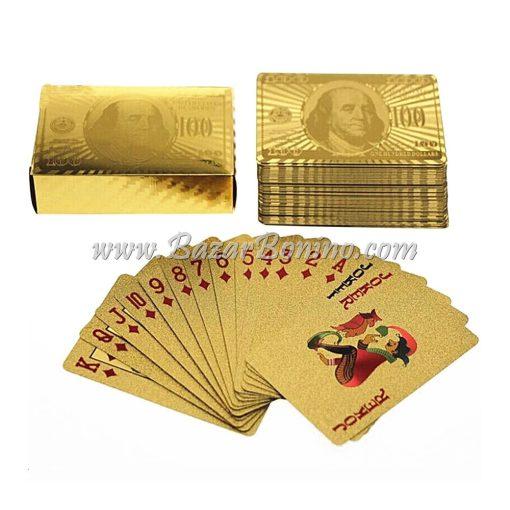MV0380 - Mazzo Carte One Hundred Dollar Bill