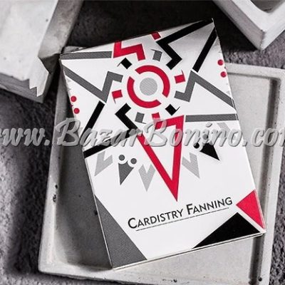 MBO030 - Mazzo Carte Bocopo Cardistry Fanning White