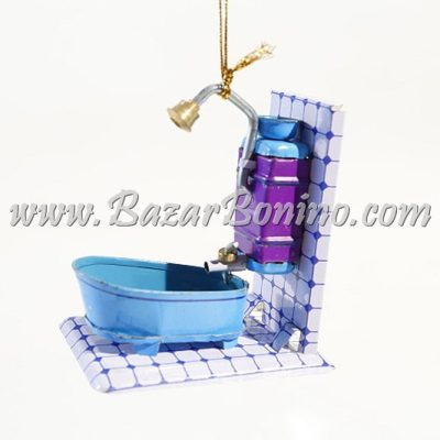 FP0210 - Vasca da Bagno Decorativo in Latta